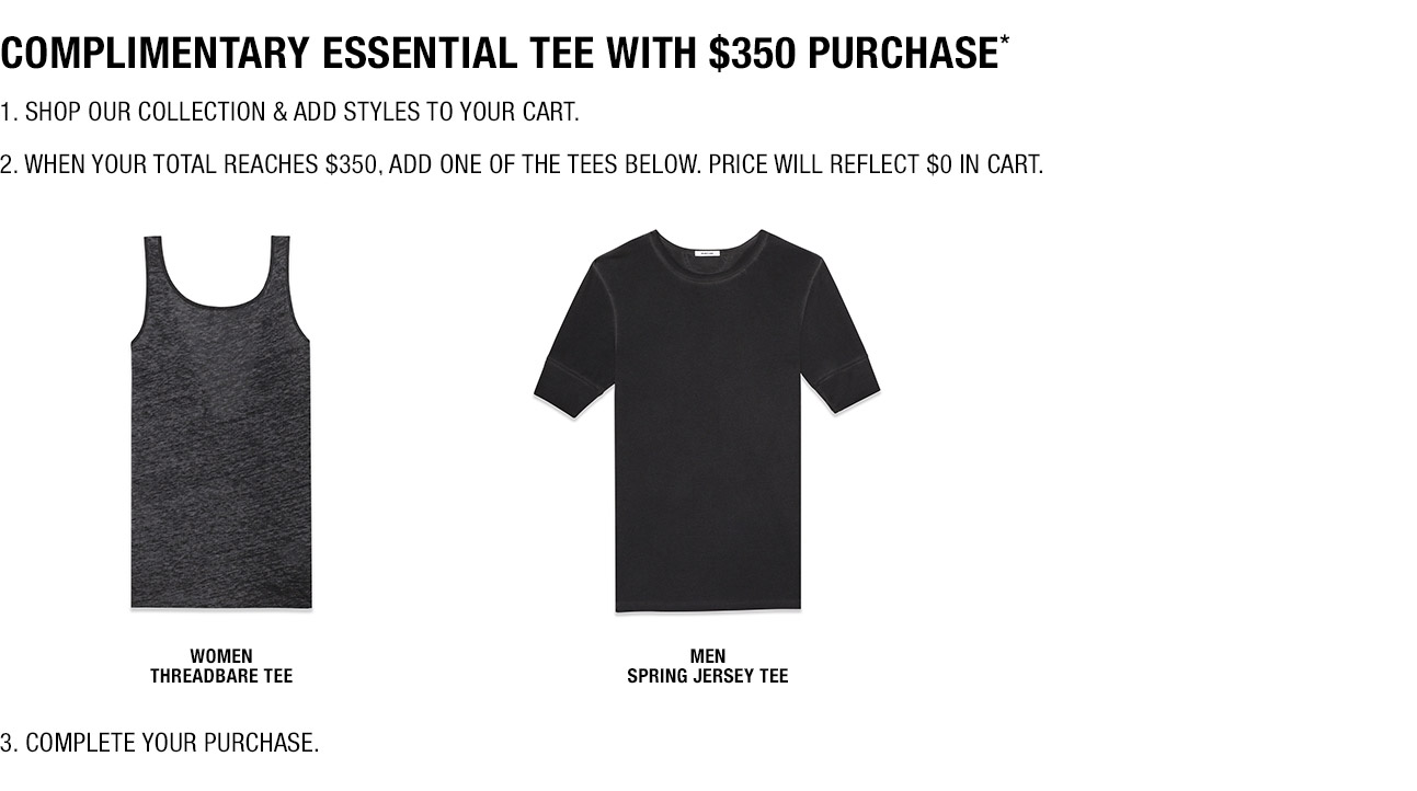 Complimentary Essential Tee